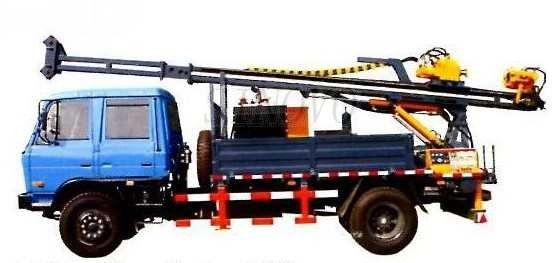 Full Hydraulic Driving Drilling Equipment SDC-2A Used For Diamond Bit Drilling Mobile Drilling Rigs